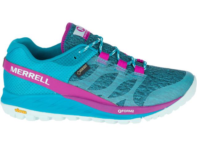 Merrell Antora GTX Buty do biegania Kobiety różowy/turkusowy